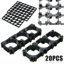 20pcs 3x Cell 18650 Battery Spacer Professional Radiating Shell Plastic Heat Holder Bracket Mayitr