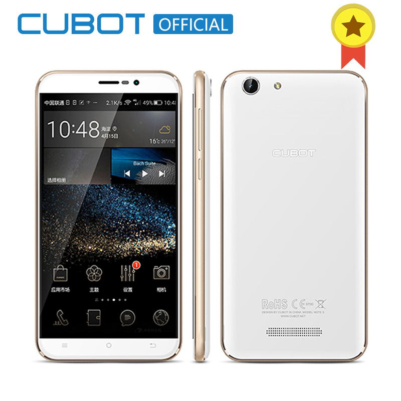 Cubot Note S 4150mAh Battery Cellphone 5 5inch 1280X720 Android 6 0 Smartphone 3G WCDMA 2G