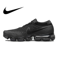 Original authentic Nike Air VaporMax men's running shoes classic trend outdoor sports shoes breathable stretch 849558 007
