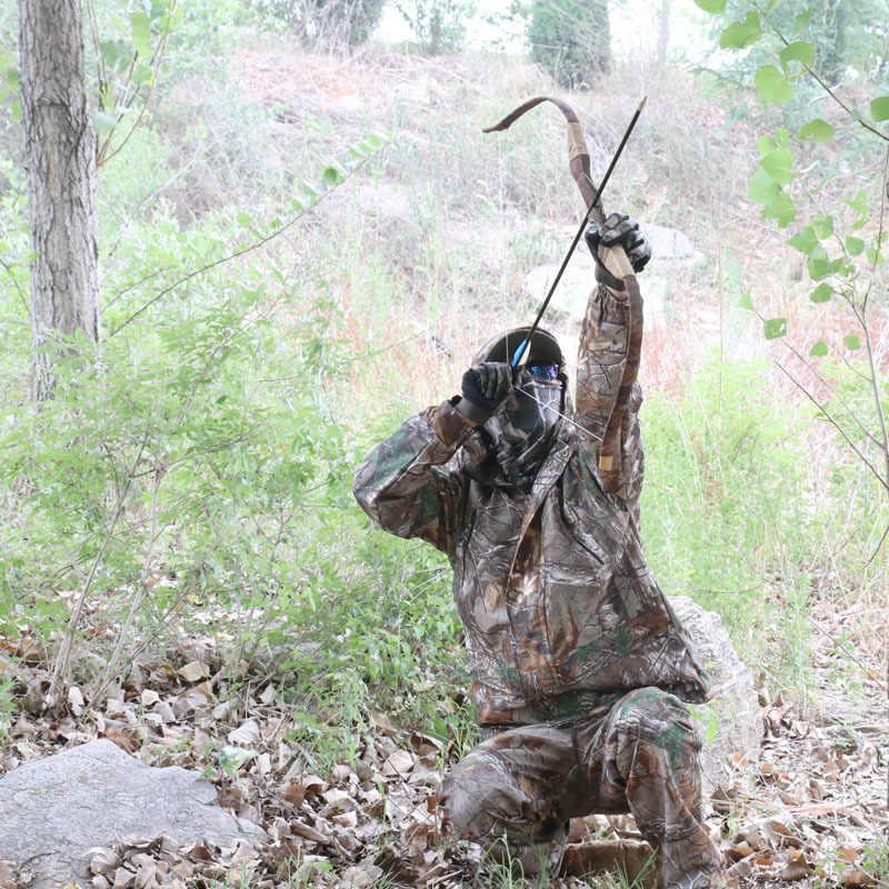 Уличная Охота наблюдение за птицами водонепроницаемый бионический камуфляж куртка + брюки военный фанат стрельба обучение тактический Снайпер одежда костюм