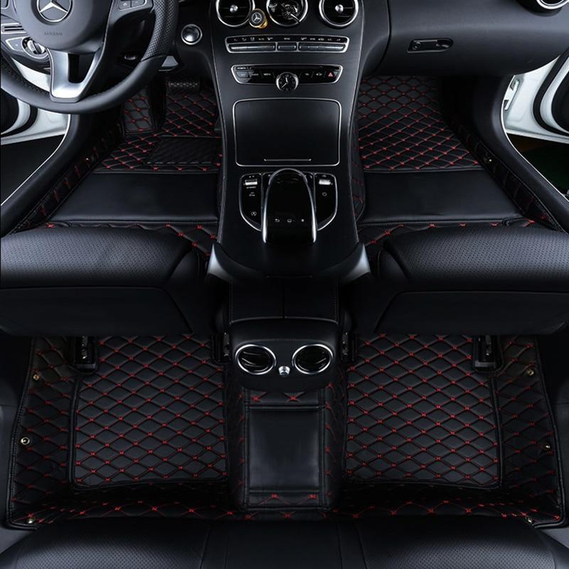 Custom logo car floor mats for volvo s60 v40 xc60 xc90 s80 c30 v90 v60 XC Classi s90 s40 auto Accessories car mats