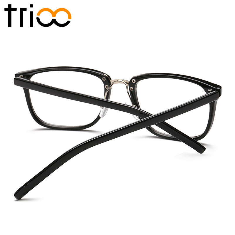 TRIOO Square Frame Mens Eyewear Glasses Female Classic Style Oculos ...