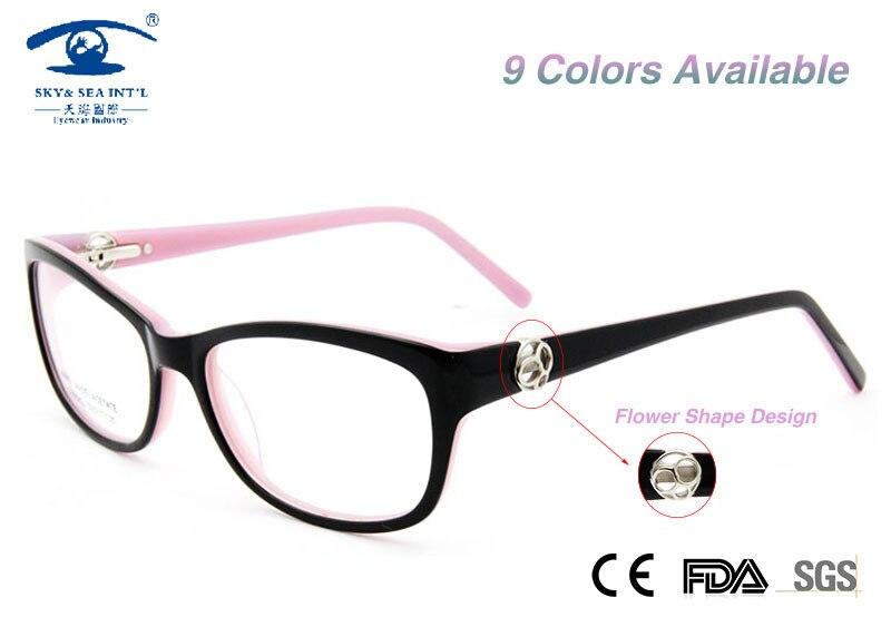 94554cf429f5 New oculos de grau feminino Fashion Glasses Women armacao de oculos Female  Prescription Eyewear in Clear Lens Optical Frame-in Eyewear Frames from  Women s ...