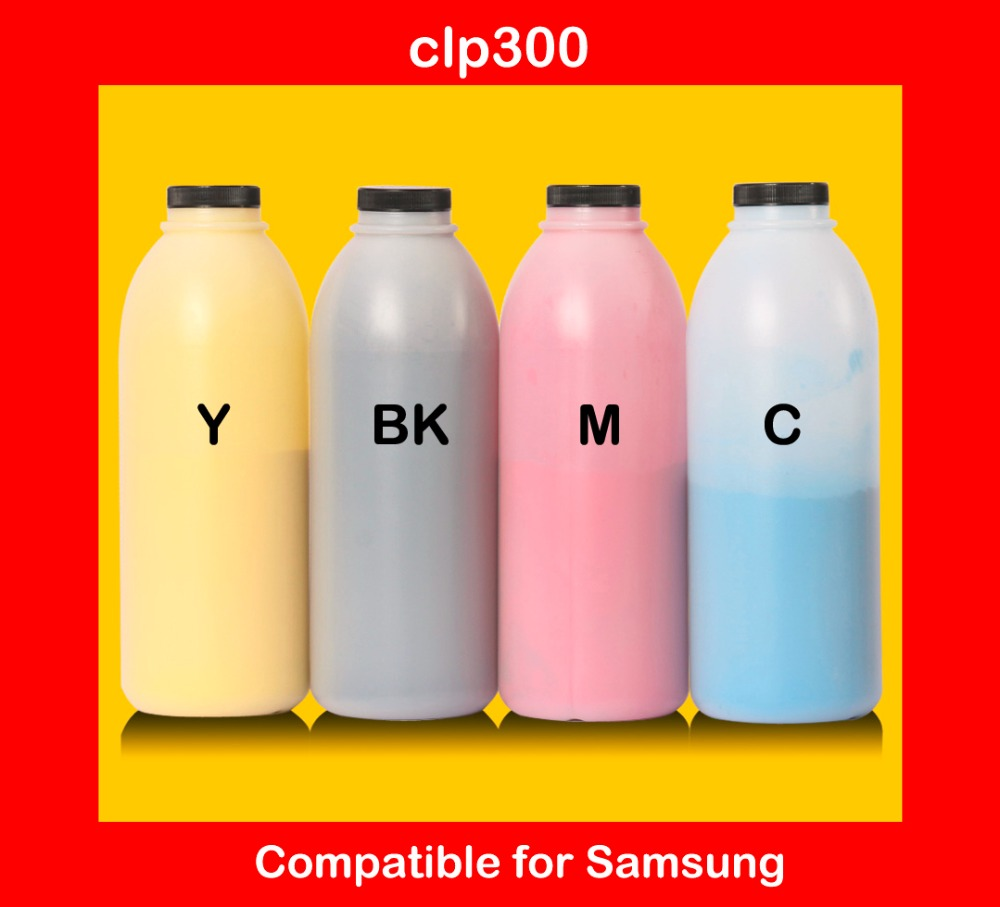 compatible for samsung clp300 / 300 refill color toner powder high quality color toner cartridge powder free shipping подвесная люстра globo cuimbra ii 63113 5