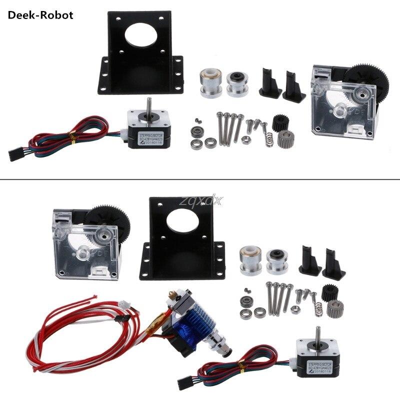 Deek-Robot Titan Extruder Full Kit with NEMA 17 Stepper Motor for 3D Printer E3D 1.75/3.0 Z09 Drop ship