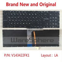 Original Latin Colorful Backlit Keyboard For MSI GE72 GE62 WS60 GS60 GS70 GT72 GP62 GP72 GT73VR V143422FK1 S1N 3E00211 SA0 LA