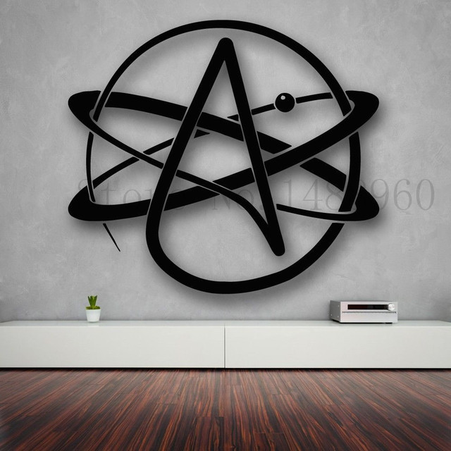 Science Atom: Wall Stickers Vinyl