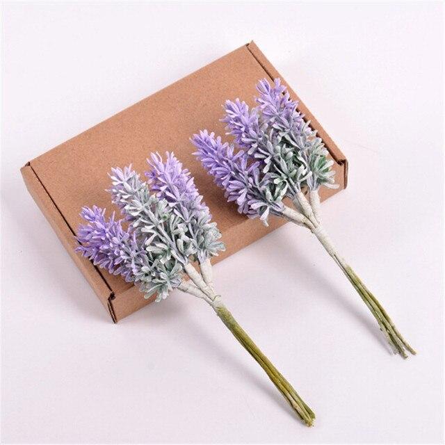 6 Pcs Romantische Provence Kunstbloem Lavendel Bloem Simulatie Planten Voor Thuis Party Decorations