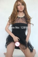 2015 new 163cm Tall Japanese metal skeleton real adult love doll solid full silicone with wig sex doll for men