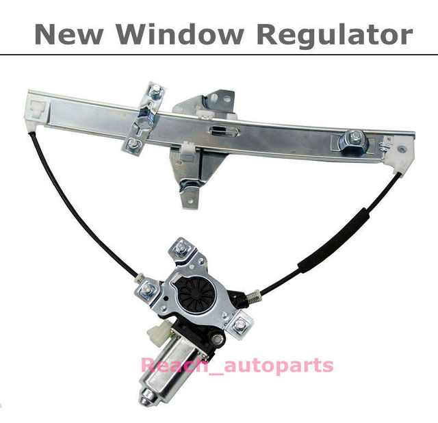 Front Driver Side New Power Window Regulator w/Motor For 00-05 Chevrolet Impala