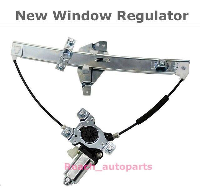 Front Driver Side New Power Window Regulator w/Motor For 00-05 Chevrolet Impala
