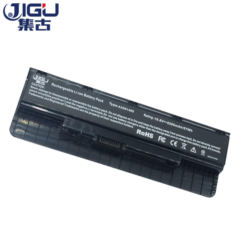 JIGU Laptop Battery A32LI9H A32N1405 A32N14O5 A32NI405 For Asus G551 G551J G551JK G551JM G58JM G771 G771J G771JK G771JM G771JW