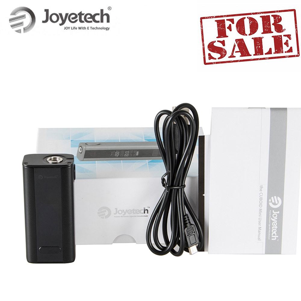 Heißer Verkauf! Russland lager Ursprüngliche Joyetech Quader Mini Batterie Mod 1-80 watt Ausgang Eingebaute 2400 mah e-Zigarette