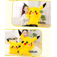 backrest pillow for bed minder decorative sofa cute Pikachu coussin enfant kussens woondecoratie