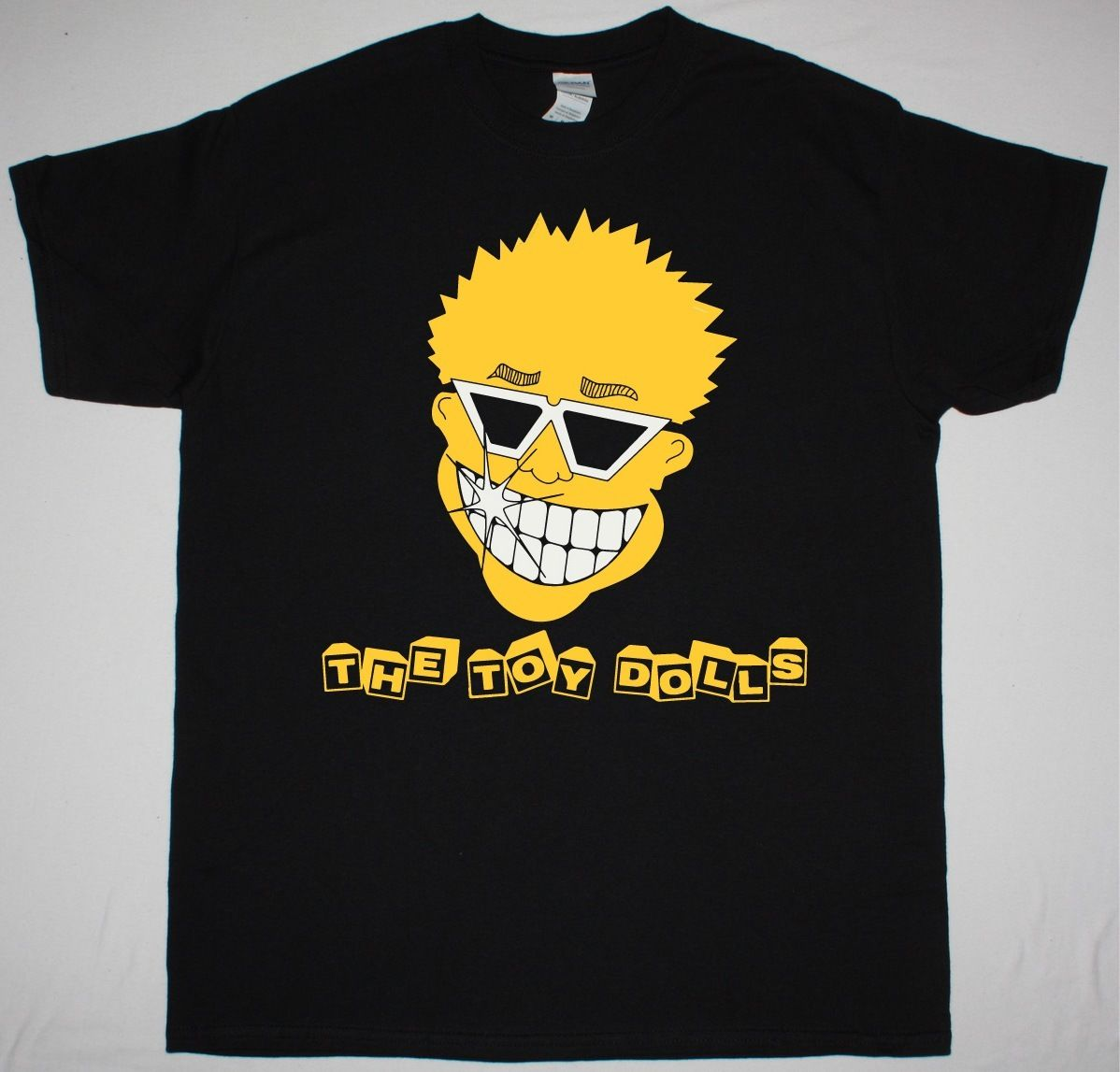 doll trottla doll pussy THE TOY DOLLS SMILEY FACE PUNK GBH SHAM69 UK SUBS THE ADICTS NEW BLACK T-