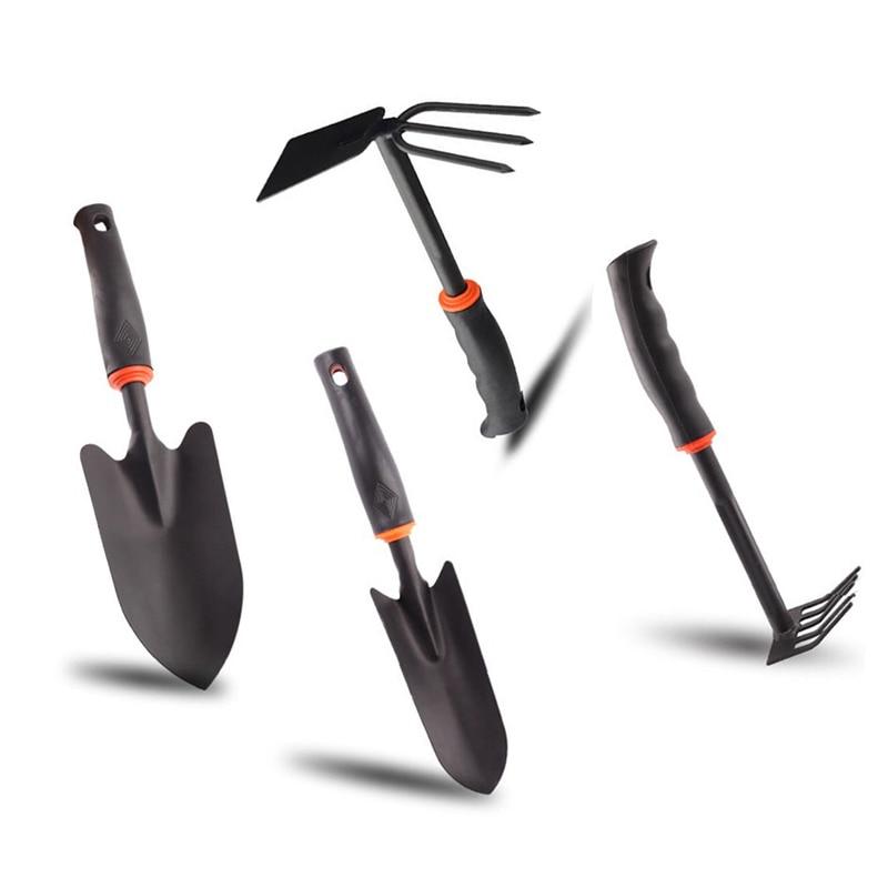 Gardening Tools Set Shovel Spade Hoe Rake Hardware Iron Planting
