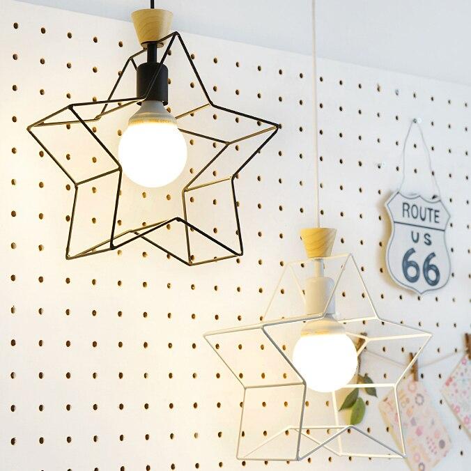 Design criativo moderno e minimalista quarto estudo varanda escadas Coreano pingente luzes bar cozinha iluminação decorativa FG641