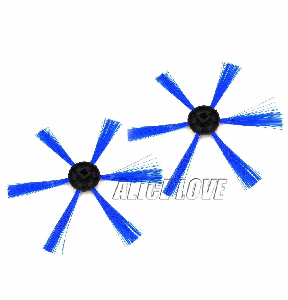 2pcs Sweeping robot for philips FC8603 FC8700 FC8710 FC8810 FC8820 FC8066 The side brush round brush. Cleaning brush Accessories original oem cleaning robot automatic sweeping 2 sidebrush rotating soft brush 400series vacuum cleaning robot parts accessories