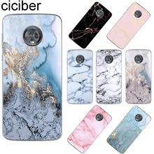цена ciciber For Motorola Moto ONE C M X4 Z2 Z3 P30 G4 G5 G5S G6 E4 E5 Play Plus Power Soft TPU Phone Case Marbling Coque Funda Cover онлайн в 2017 году