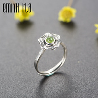 Genuine 100 925 Sterling Silver Female Vintage Original Design Open Rings Fashion Jewelry For Women 4