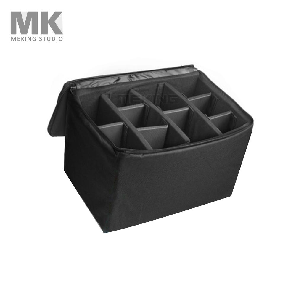 Prix pour Meking 3828 Partition rembourré sacs insérer dslr Protecteur Cas sac noir couleur 36 cm * 26 cm * 25 cm