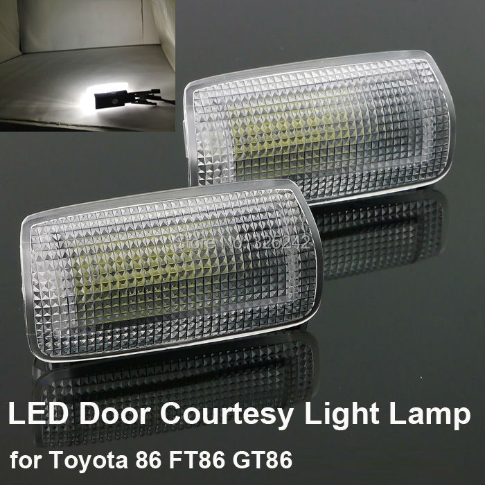 For Toyota FT-86 FT86 GT86 Excellent Ultra bright 3528 Epistar LED Door Courtesy Light Lamp No OBC error