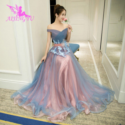 AIJINGYU   Evening     Dress   Party Gown 2018 Elegant Sexy Formal Special Occasion   Dresses   For Women Fashion Gowns FS477