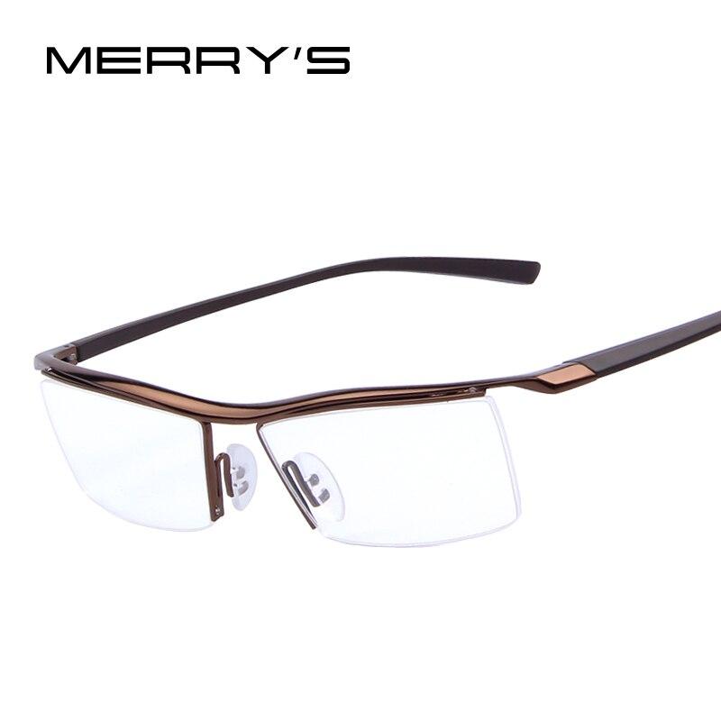 2015 heißer Verkauf Männer Optische Rahmen Brillen Rahmen Rack Business Arbeiten Brillen Rahmen Myopie Titan Rahmen TR90 Leg
