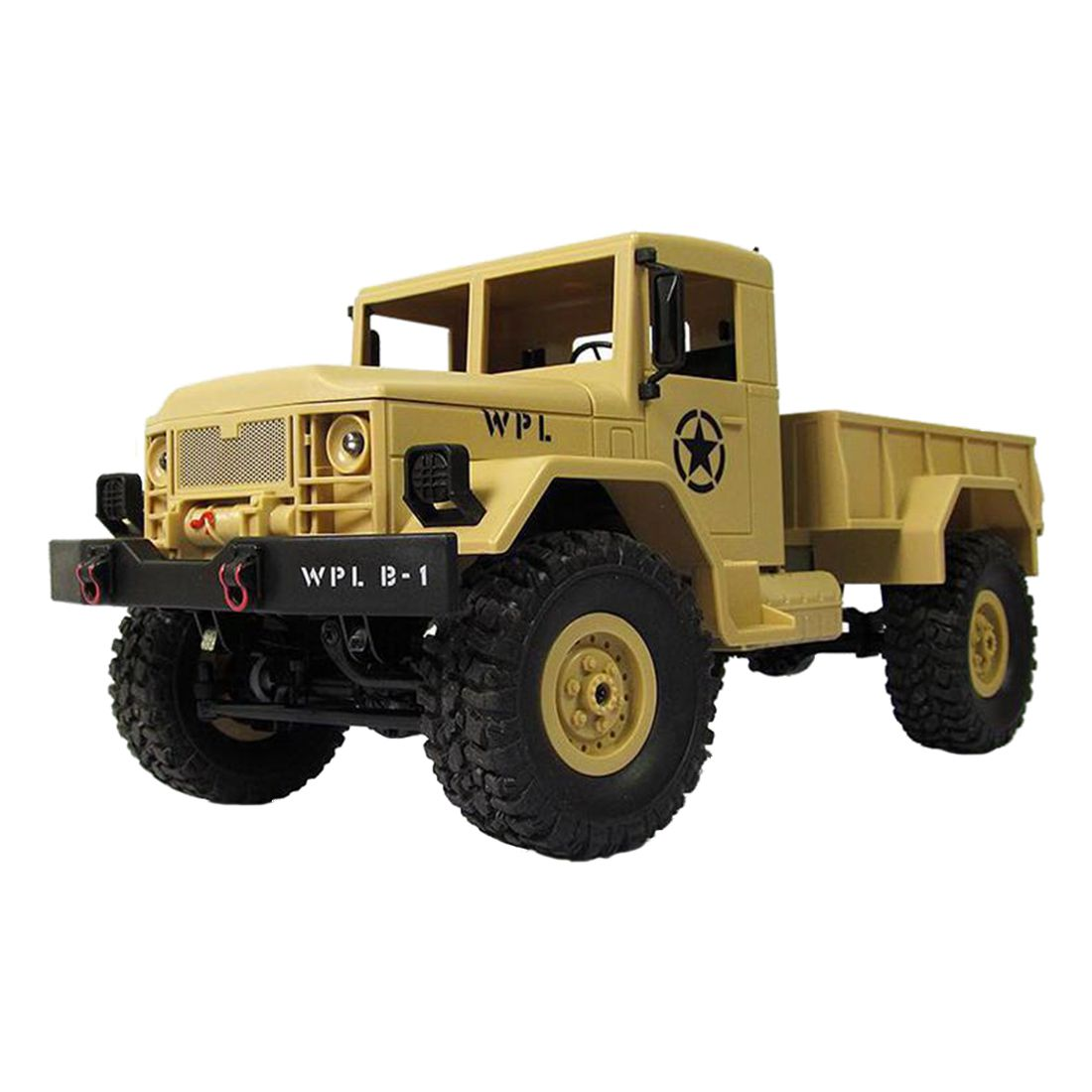 WPLB-1 1/16 2.4G 4WD RC Crawler Off Road Car With Light RTR