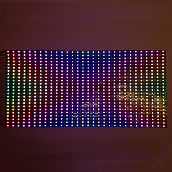 New Arrival 25x50CM WS2812B 2811 WS2812 30 60 LEDs Pixel Adreesable Dispaly Screen Panel 5V