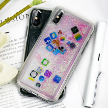 KISSCASE Fantastic Quicksand Phone Patterns Cases For iPhone 6 6s 7 8 Plus Cover Lovely X XS MAX XR Capa