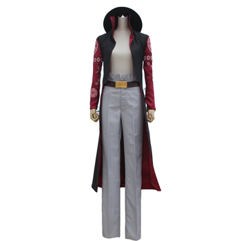Anime One Piece Dracule Mihawk cosplay costume set with hat hot