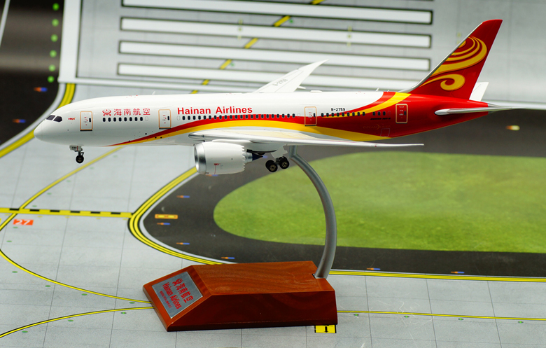 IF 1/200 Hainan Airlines Boeing B787-8 aircraft model alloy B-2759 IF7870516 Favorites Model jc wings 1 200 boeing 747 8 aircraft alloy model the simulation model alloy aircraft favorites model