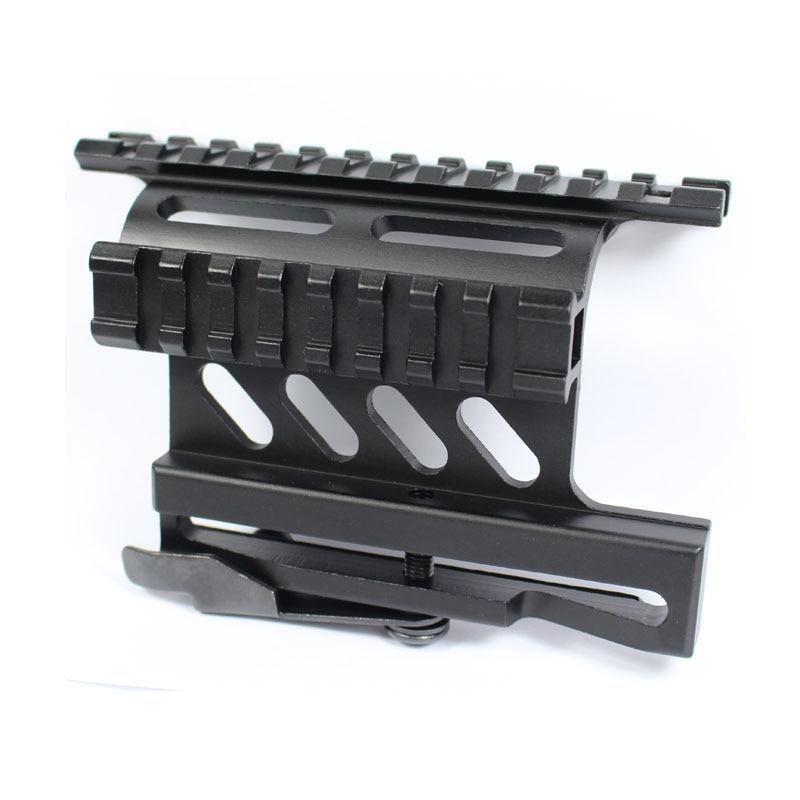 Tactical Mount AK Serie Picatinny Weaver Side Mount Rail Quick QD 20mm Rail Double Side AK47 AK74 Scope Sight Mounts Rifle
