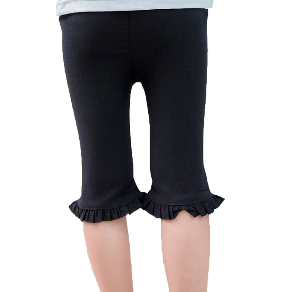 Baby Clothing Baby Pants Knee-length Pants Boot Cut Ruffles Trousers Kids Girls Bell Bottom Wide Leg Flare Stretch Boho Pants