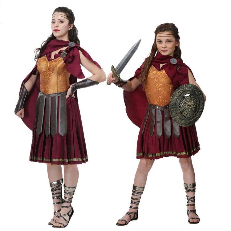 Irek Heißer Halloween kostüm party cosplay kostüm frauen mädchen Medieval Gladiator Krieger Kostüm-in Kostüme aus Neuheiten und Spezialanwendung bei AliExpress - 11.11_Doppel-11Tag der Singles 1
