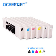 T7251-T7254 T725A T7251 Kompatibel Ink Cartridge Diisi dengan Tinta untuk Epson Surecolor F2000 F2100 600 Ml/pc (5 Pilihan Warna)(China)