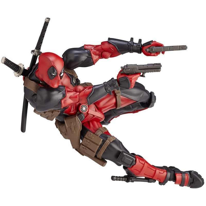 Incrível Yamaguchi 001 Deadpool Deadpool PVC Action Figure Toy Modelo de Alta Qualidade Dos Desenhos Animados Presente Criativo Boneca de Brinquedo Coleções