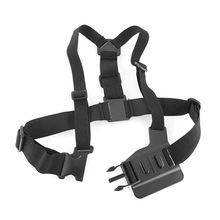 цена на Adjustable Chest Mount Harness Chest Strap Breast Belt for GoPro HD Hero 4 3+ 3 2 1 SJ4000 SJ5000 Camera GP26  SGA998