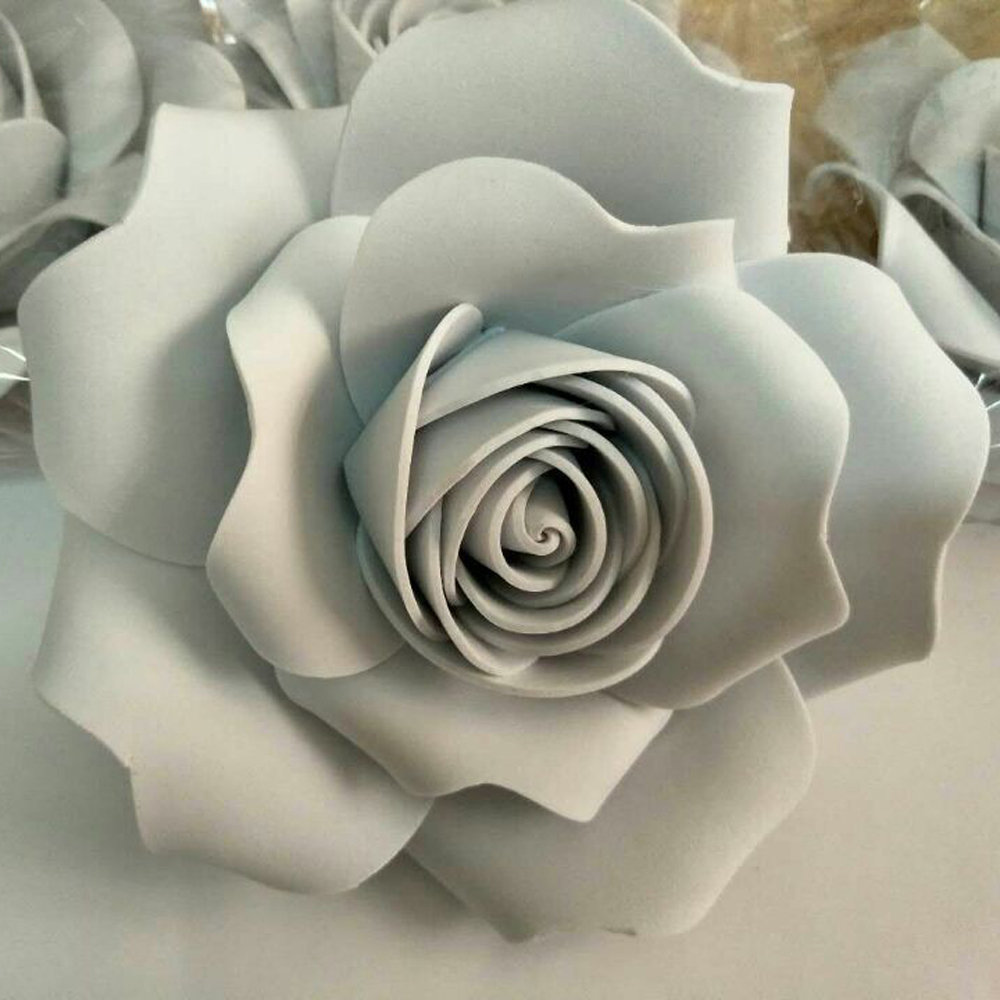 Handmade 20cm 3d foam flower party christmas wedding decoration handmade 20cm 3d foam flower party christmas wedding decoration large artificial paper flowers party paper flower shooting props in artificial dried mightylinksfo