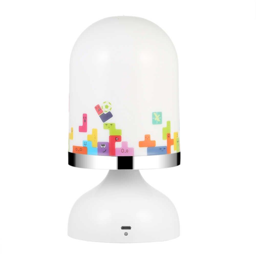 USB подзаряжаемый вибрационный датчик для детской комнаты подвесной светодиодный ночник для детской спальни лампа желтый свет Новинка кровать лампа для ребенка