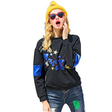2017 Womens Blouse Shirt Tumblr Sweatshirt Tops Punk Pullover Summer Basic Fashion Ladies College Oversized Hoodie Streetwear
