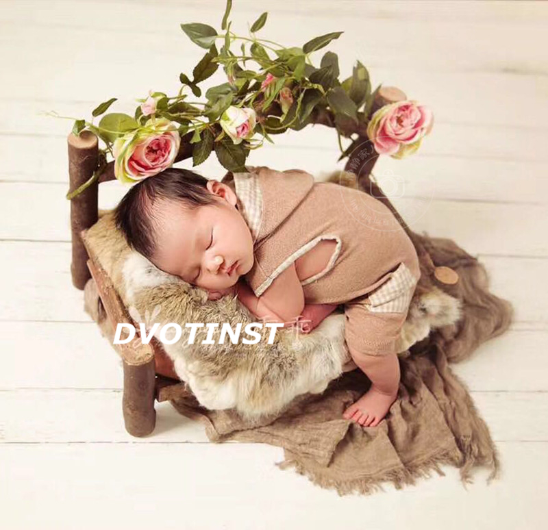 Analytical Dvotinst Baby Photography Props Wood Retro Posing Mini Bed Fotografia Accessories Infant Studio Shoots Photo Props Shower Gift A Plastic Case Is Compartmentalized For Safe Storage Mother & Kids Accessories