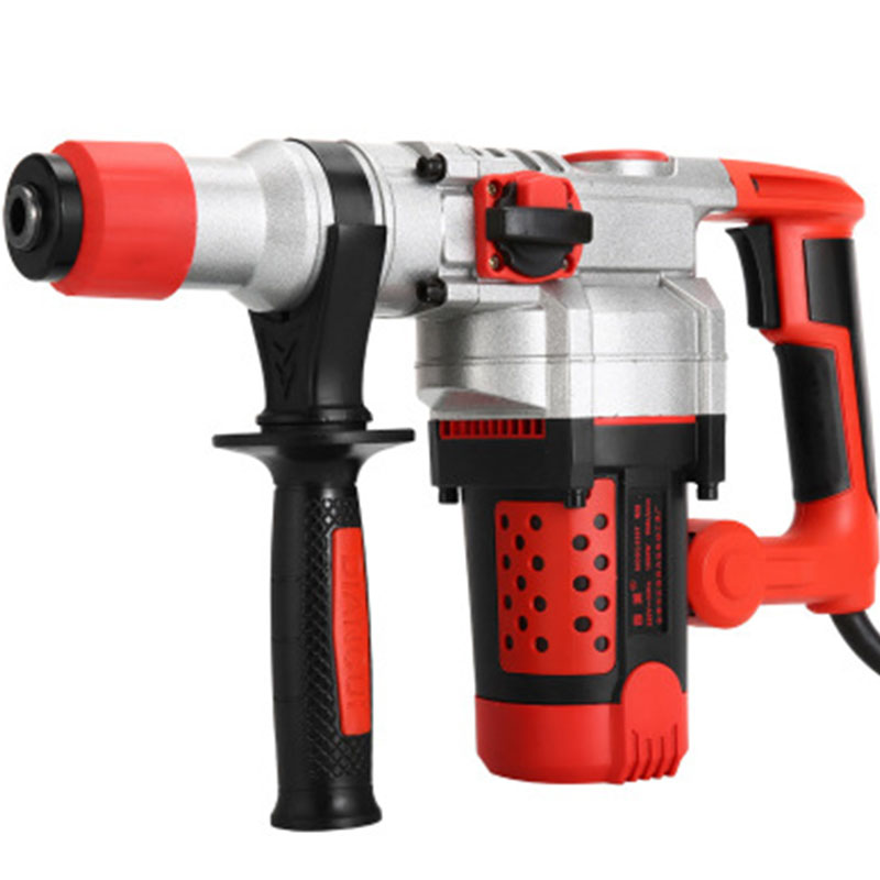 Impact Drill Battery Cordless Electric Hammer Electric Hand Drill Home Professional Concrete Industrial Grade Professional Tools