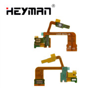 Camera button Flex Cable for Sony ZL C6502 L35h C6503 L35i(microphone camera button with components)flat cable cheap Heyman Sony Ericsson