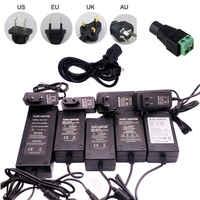 Power Adapter Supply Charger DC 5V/9V/12V/24V 1A/2A/3A/5A/6A Adaptor AC 100-240V To 5V/12/V Universal Adapter EU/US/UK/AU Plug
