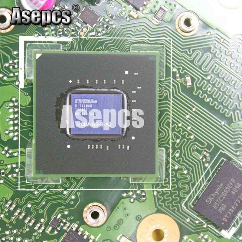 Asepcs X550LC Laptop Cho Asus X550LC X550LD A550L Y581L W518L X550LN Thử Nghiệm Ban Đầu Mainboard 4GB-RAM I7-4500U GT720M