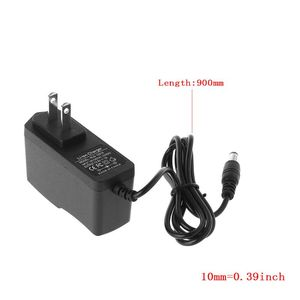 Image 5 - 12.6V 1A Lithium Battery Charger 18650/Polymer Battery Pack 100 240V 5.5MM x 2.1MM Charger With Wire Lead DC EU/US Plug