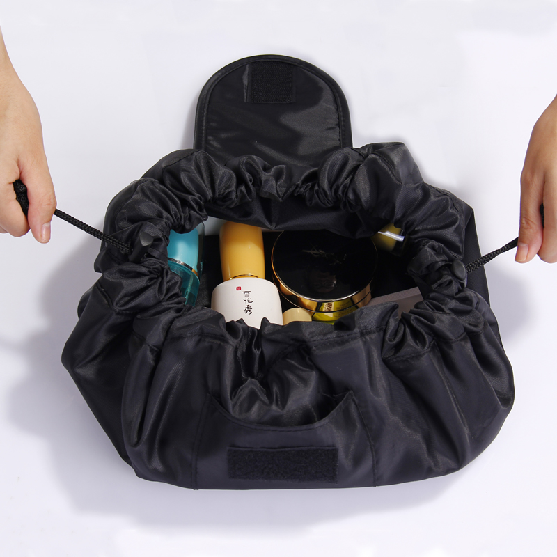 Neceser Cosmetic Bag Magic Travel Pouch Waterproof Makeup Trousse Maquillage Femme Trousse De Toilette Lazy Bag Cosmetics