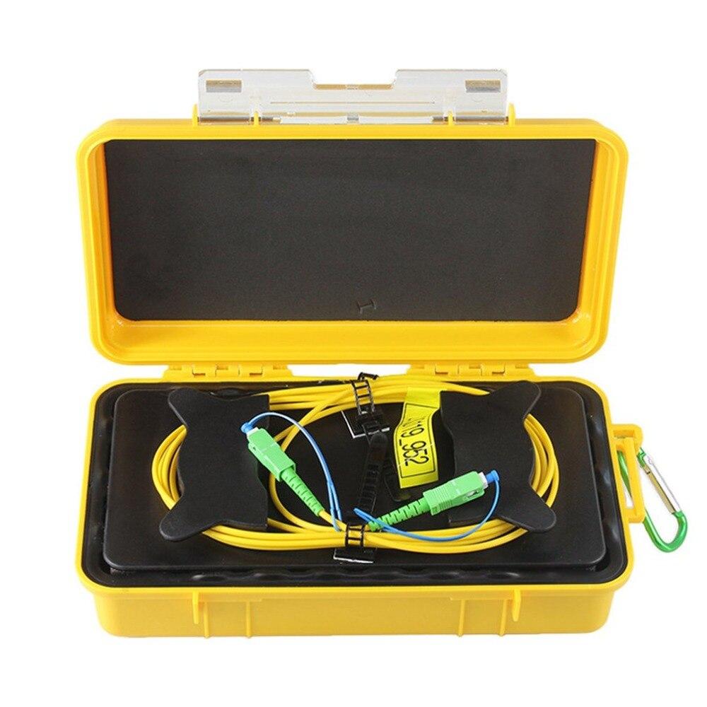 SC/APC Professional одиночный режим 2000 м OTDR launch Cable Box Кольцо с плетением OTDR launch волоконно оптический кабель
